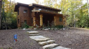 Nestled In The Woods Of Wisconsin, Hidden Bear Cabin Provides The Perfect Escape Throughout The Seasons