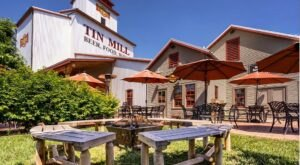 Cut Into A Juicy Steak At Tin Mill Restaurant, A Century-Old Former Grain Mill In Missouri