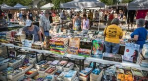Shop Till You Drop At The Princeton Flea Market, One Of The Largest Flea Markets In Wisconsin
