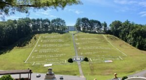 Take A Walk Through The Largest Ten Commandments In The County At Fields Of The Wood In North Carolina