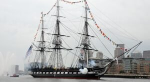 One Of The Strongest, Most Famous Ships In U.S. History Was Built From Georgia Trees