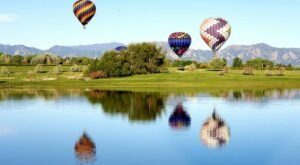 Hot Air Balloons Will Be Soaring At Colorado's Erie Town Fair & Hot Air Balloon Festival