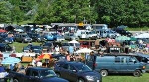 The Biggest And Best Flea Market In Maine, Montsweag Flea Market, Is Now Re-Opening