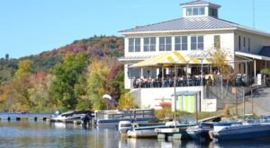 For Waterfront Views and Delicious Food, Enjoy A Meal At The Marina Restaurant In Vermont