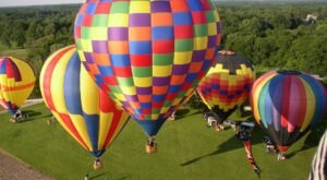 Hot Air Balloons Will Be Soaring At Illinois' 5th annual Balloons Over Vermilion