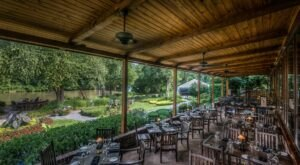 With Unobstructed Views Of The Chattahoochee River, Come Dine Waterside At Canoe In Georgia