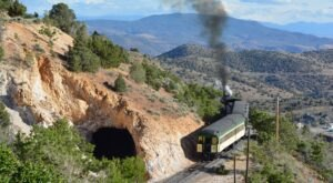 The V&T Railroad Steam Train Rides Offer Some Of The Most Breathtaking Views In Nevada