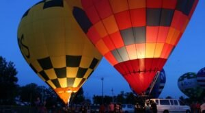 Hot Air Balloons Will Be Soaring At Kentucky's Gaslight Festival