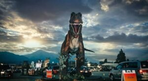 An Interactive Drive-Thru Exhibit With Life-Size Dinosaurs Is Coming To Utah
