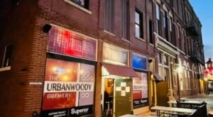 Enjoy Local Brews And Wood-Fired Pizza At The UrbanWoody Brewery In Small Town Ohio