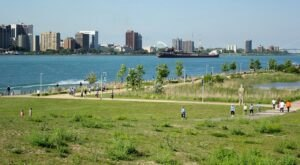 Michigan's Marvelous Detroit Riverfront Was Just Named The Best Riverwalk In America