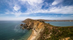 Explore A Peninsula Covered In Wildflowers On The Chimney Rock Trail In Northern California