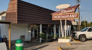 The Tenderloin Sandwiches Are As Big As Your Head At Stewart's Restaurant In Missouri