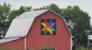You'll Spot Folk Art In Every Color On The Kansas Flint Hills Barn Quilt Trail