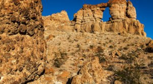 Hike To The Liberty Bell Arch On This Pleasant Desert Trail At Nevada's Lake Mead