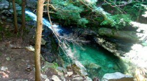 You'll Want To Spend The Entire Day At The Gorgeous Natural Pool In Maine's Evans Notch