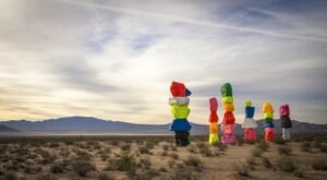 2021 Is Your Last Chance To See The Seven Magic Mountains Art Installation In Nevada