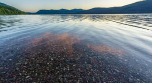 You'll Want To Visit This Lake For The Most Beautiful Colored Pebbles In Montana