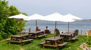 You Can Eat Fresh Caught Lobster Over Looking The Bay At This Maine General Store And Restaurant
