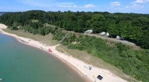 The Unique, Out-Of-The-Way Beachfront Park In Michigan That's Always Worth A Visit