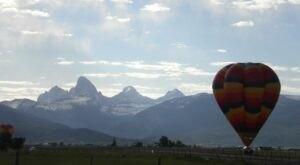 Hot Air Balloons Will Be Soaring At Idaho's 40th Annual Teton Valley Balloon Rally