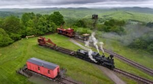 Take A Little-Known Train Trip, The Cass Scenic Whittaker, To An Old Logging Camp In West Virginia
