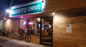 The Overstuffed Burritos Are As Big As Your Head At Burrito Drive In Wisconsin