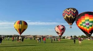 Hot Air Balloons Will Be Soaring At Montana's Big Sky International Balloon Rendezvous