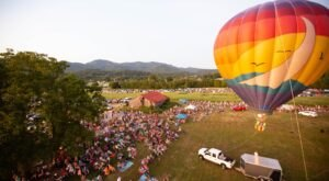 Hot Air Balloons Will Be Soaring At Tennessee's Great Smoky Mountain Balloon Festival