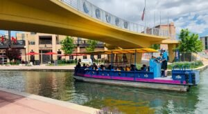 Take A Ride On This One-Of-A-Kind Canal Boat In Colorado