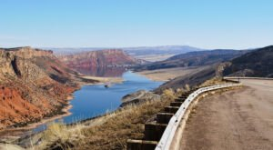 The Flaming Gorge In Southern Wyoming Looks Like A Landscape From Another Planet