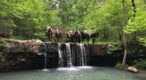 Take A Calm Ride Through The Arkansas Wilds With Boston Mountain Horse Camp
