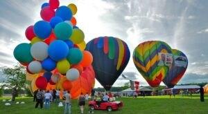 Hot Air Balloons Will Be Soaring At Maryland's Carroll County Balloon Festival