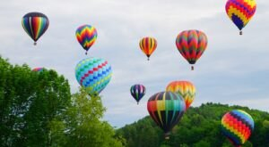 Hot Air Balloons Will Be Soaring At Vermont's 41st Annual Quechee Hot Air Balloon Craft and Music Festival