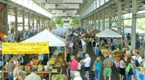Support Local Farmers And Producers At The Chattanooga Market In Tennessee, The Largest Market Of Its Kind In The Region