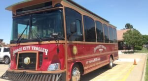 Take The Historic Trolley Tour Of Dodge City Kansas For A Unique Day Trip