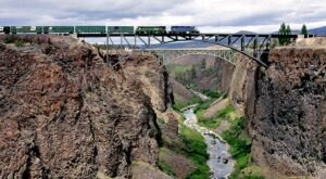 The Stunning Scenic Overlook Off-The-Beaten-Path In Central Oregon That Features Jaw Dropping Views