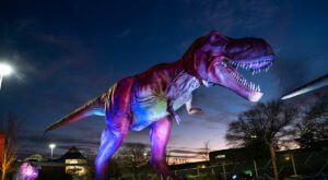 Drive Through An Underground Dino Safari At Louisville Mega Cavern