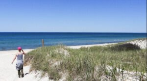 Follow A Sandy Path To The Waterfront When You Visit Sandy Neck Beach In Massachusetts