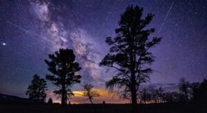 This Year, The Lyrids Meteor Shower Above South Carolina Will Peak On Earth Day In A Celestial Celebration