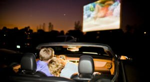 Grab Your Favorite Candy And Soda And Head To the Mission Tiki Drive-In For A Movie Night In Southern California