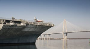 Most People Don't Know About The Overnight Camp Outs Aboard This Former Aircraft Carrier In South Carolina