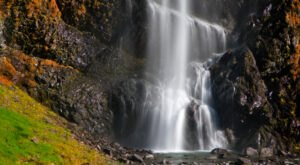 Bridal Veil Falls In Alaska Was Named One Of The Top 10 Waterfalls In America