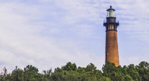 This Lighthouse In North Carolina Was Constructed Using One Million Bricks