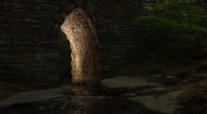 One Of The Most Haunted Bridges In South Carolina, Poinsett Bridge Has Been Around Since 1820