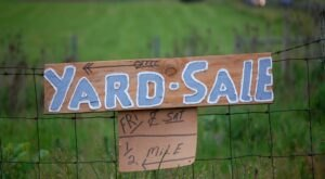 Get Ready For The Sale Of The Year With The 177-Mile Yard Sale In Iowa