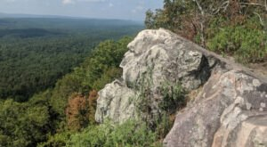 Experience A Magnificent View While Hiking Alabama's King's Chair Loop Trail