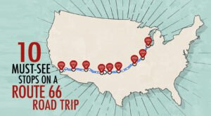 10 Of The Best Stops That You Won't Want To Miss On A Route 66 Road Trip