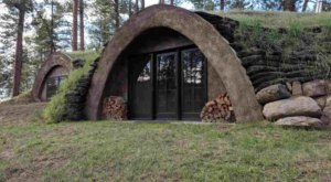 Spend The Night In An Airbnb That's Inside An Actual Earth House Right Here In Montana