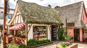 Cottage Of Sweets Is A British-Style Candy Shop In Northern California That Looks Like A Fairytale